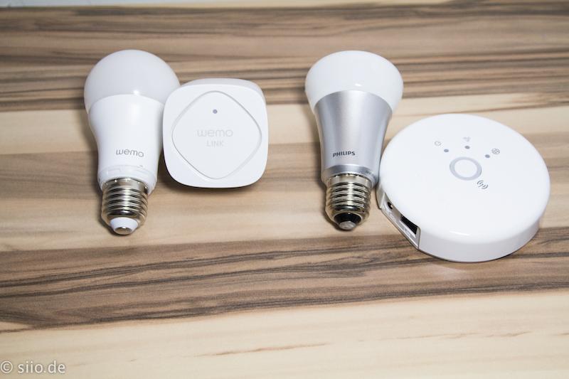 Belkin WeMo LED Leuchten vs. Philips Hue im Test