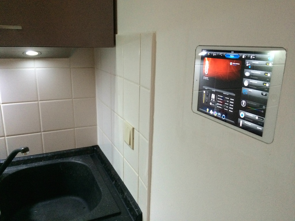 Tablet Wandeinbau - iPad Mini als Smart Home Interface