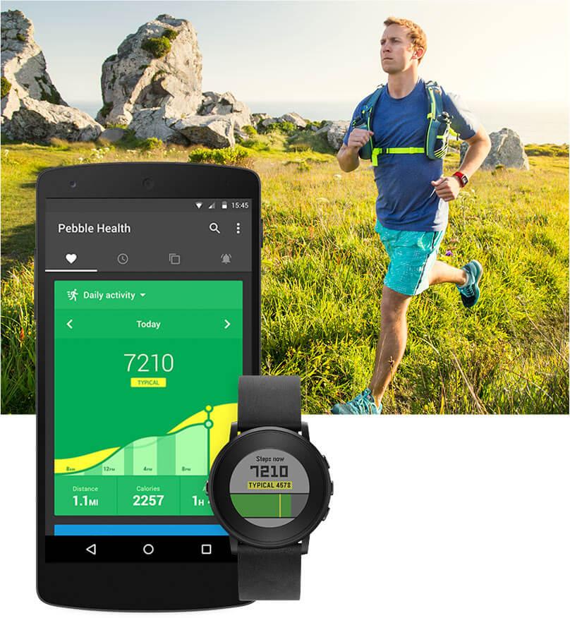 Pebble Health mit Companion App
