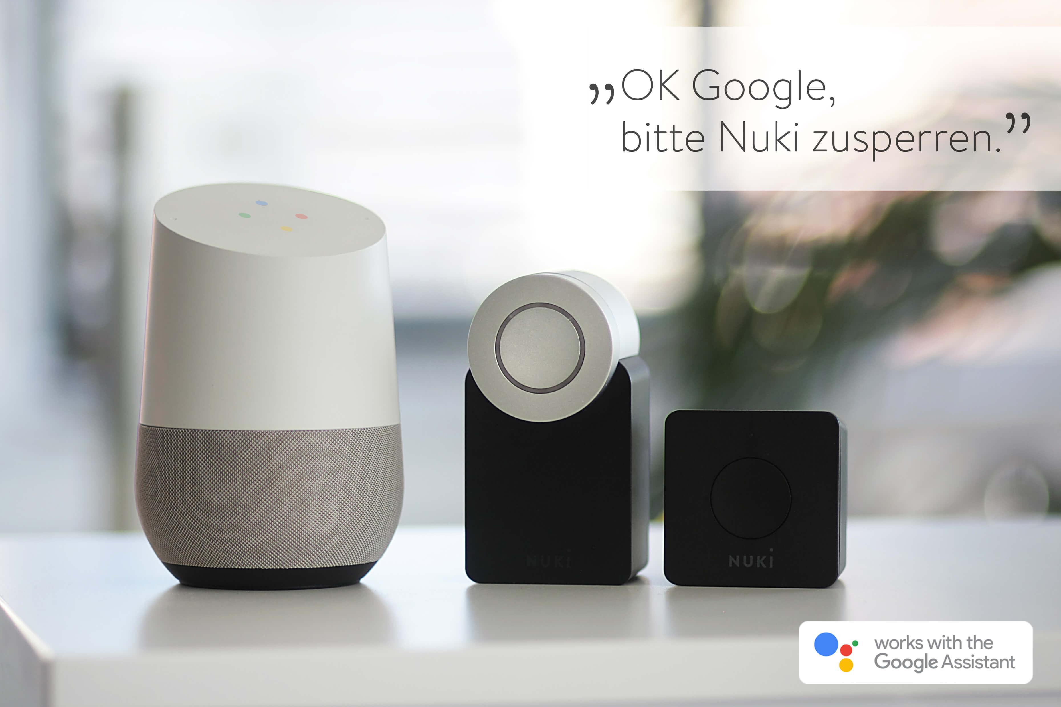 Smart Lock Nuki mit Google Home