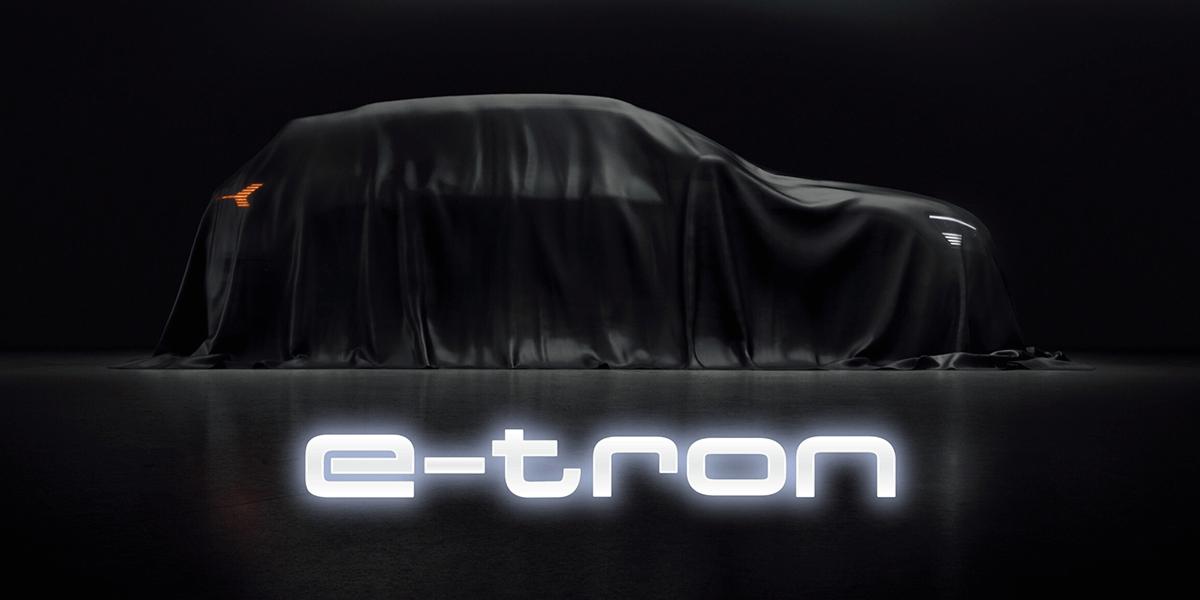 Der neue Audi e-Tron SUV - voll elektrisch mit Amazon Alexa Sprachsteuerung