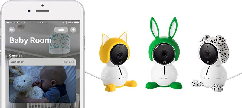 Netgear Arlo Baby Camera: 5 neue HomeKit-Aktionen verfügbar