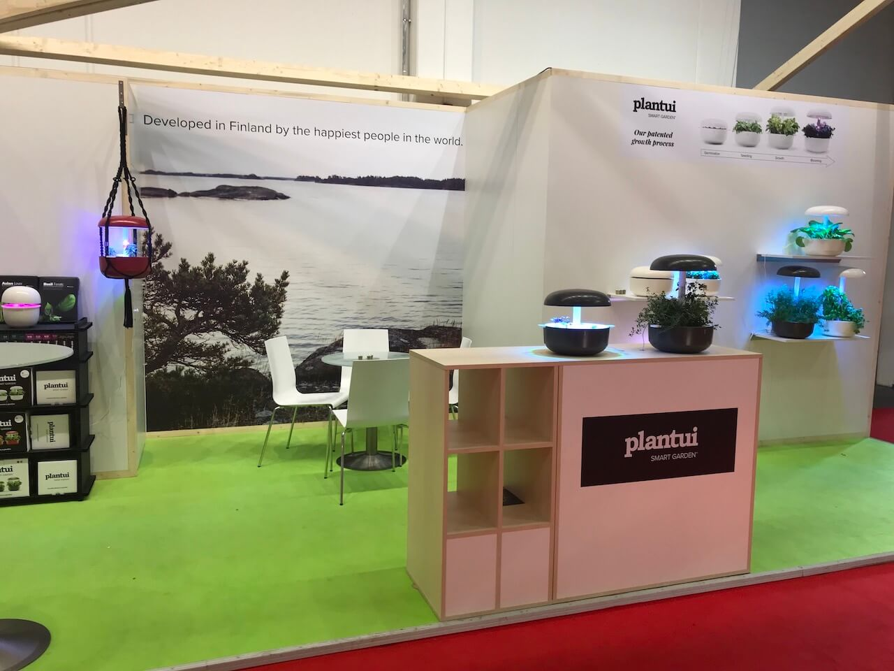 Plantui - Messestand