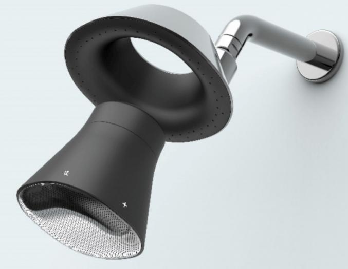 Moxie Showerhead plus Smart Speaker