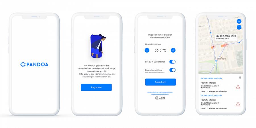 Pandoa App Design