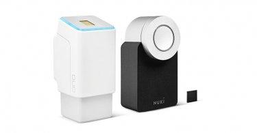 ekey: Fingerabdrucksensor für das Nuki Smart Lock
