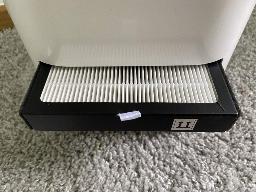 Hepa 12 Filter filtert bis zu 99,5% der Partikel aus der Luft