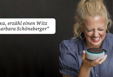 Alexa: Barbara Schöneberger erzählt jetzt Witze